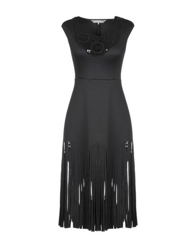 CLOVER CANYON Knee-Length Dress in Black