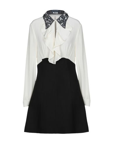 f9eed258e297 Miu Miu Shirt Dress - Women Miu Miu Shirt Dresses online on YOOX ...