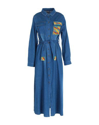 CHAMONIX Denim Dress in Blue