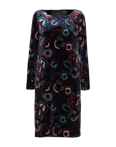 LE COL Short Dress in Dark Blue
