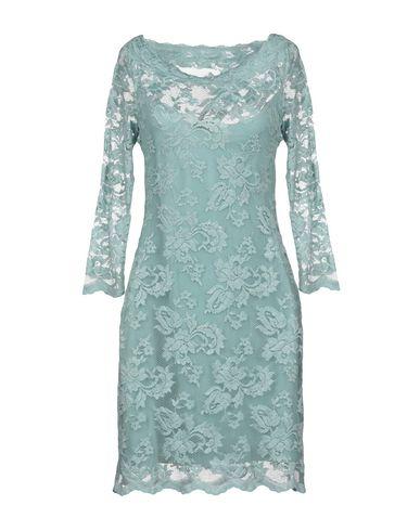 OLVI S Short Dress in Turquoise