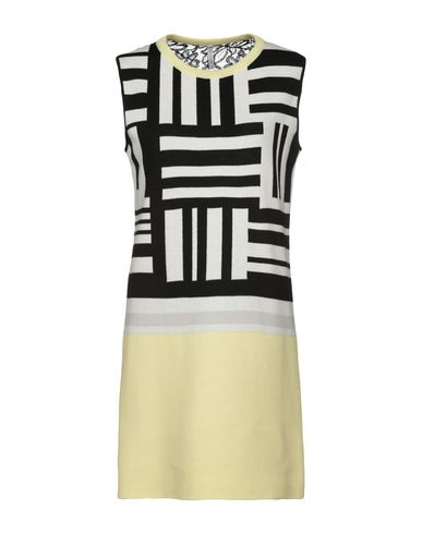 AIMO RICHLY Short Dress in Light Yellow
