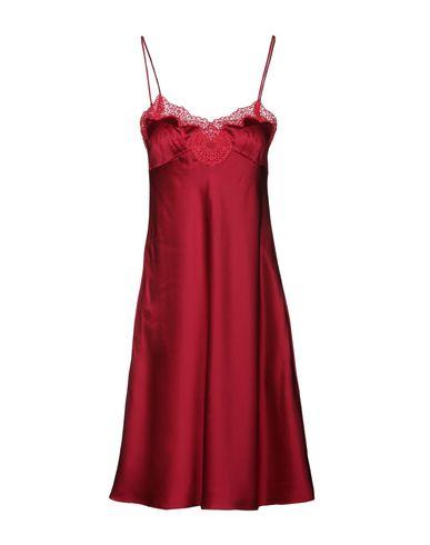 MAYLE Short Dress in Garnet