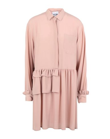 SI-JAY Short Dress in Pastel Pink