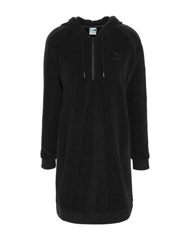 Puma Downtown Hooded Dress Cotton - Kurzes Kleid Damen - Kurze ... 9290f30212