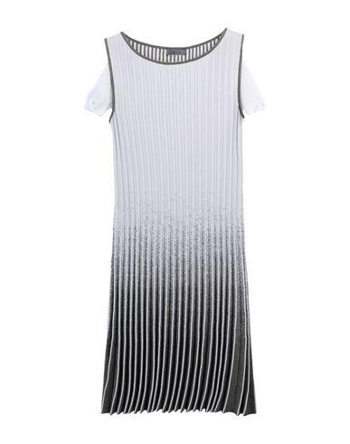 SHE'S SO Knee-Length Dress in Light Grey