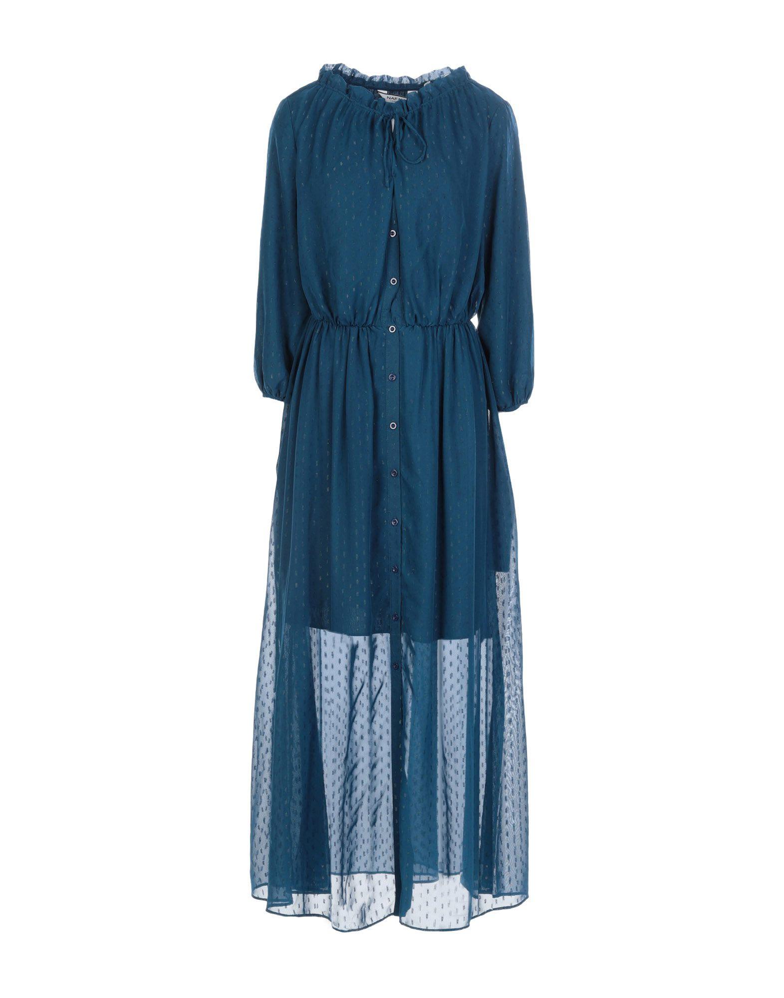 Naf Naf Long Dress - Women Naf Naf Long Dresses online on YOOX ... 16782f5a9