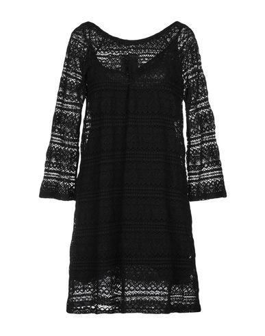 PINK MEMORIES Short Dress in Black
