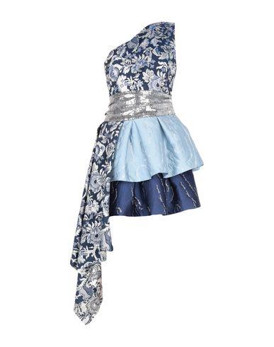 Foncé Christian Pellizzari Bleu Robe Courte xPFIqP8S