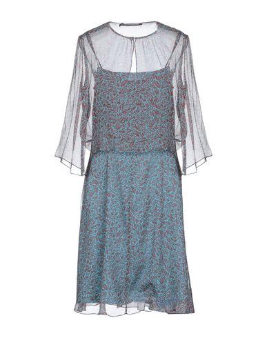 Aux Pétrole Collection Natan Bleu Genoux Robe TAqEx76np