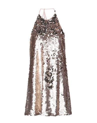OH MY LOVE Short Dress in Light Brown