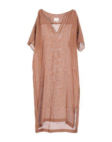 DIEGA Midi Dress in Brown