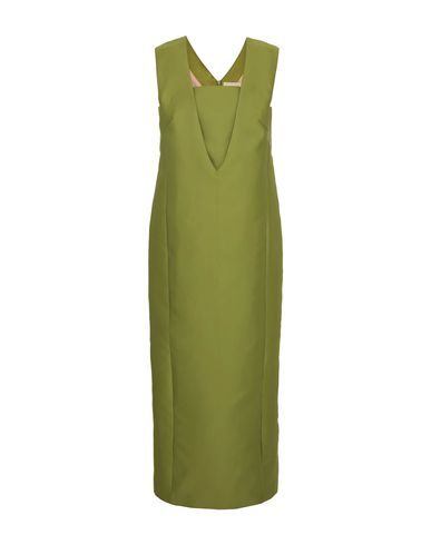 MERCHANT ARCHIVE Long Dresses in Acid Green