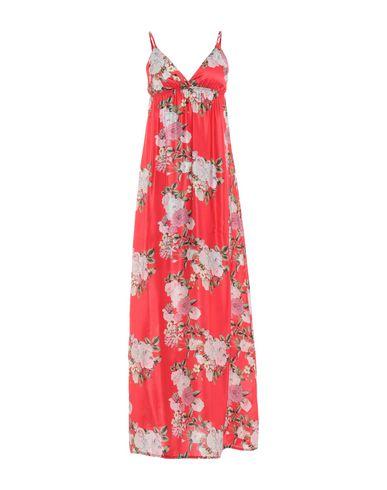 PINK MEMORIES Long Dress in Red