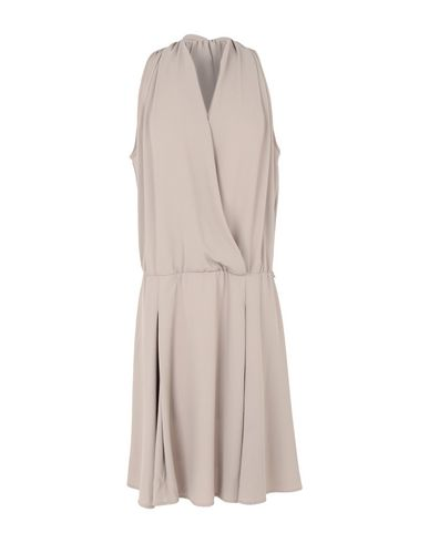 HOTEL PARTICULIER Knee-Length Dress in Khaki