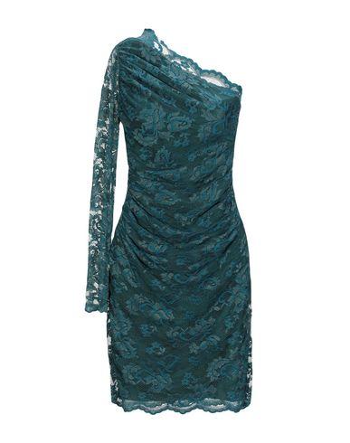 BALENSI Short Dress in Deep Jade