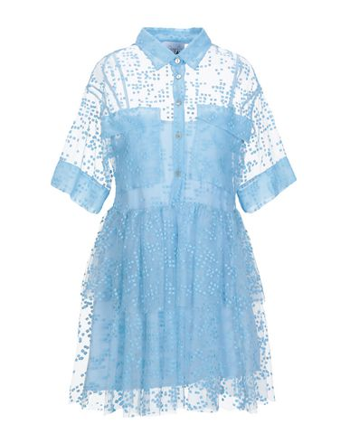 SI-JAY Shirt Dress in Sky Blue
