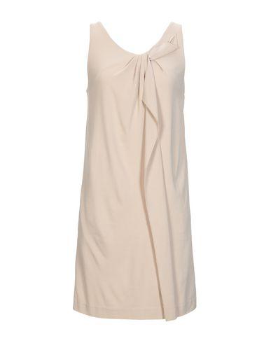 INTROPIA Short Dress in Beige