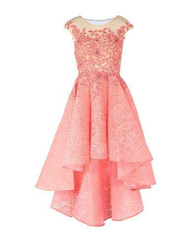 FOREVER UNIQUE Knee-Length Dress in Coral