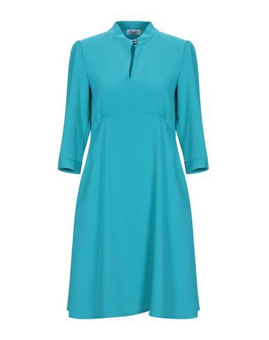 HOPPER Short Dress in Turquoise