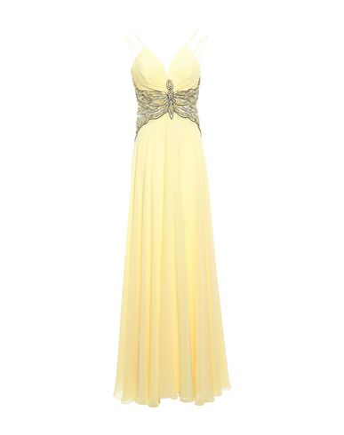 FOREVER UNIQUE Long Dress in Yellow