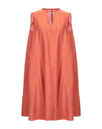 BAGUTTA Short Dress in Rust