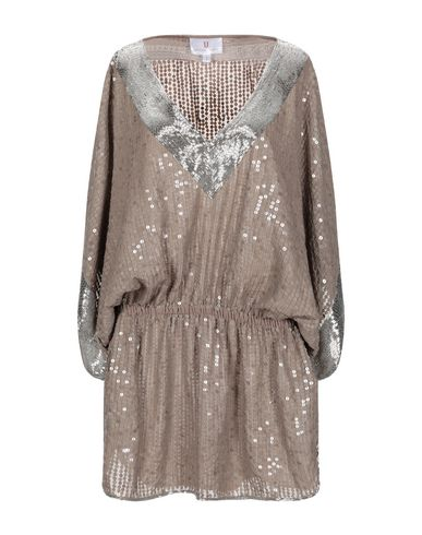 FOREVER UNIQUE Short Dress in Khaki