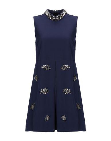 FOREVER UNIQUE Short Dress in Dark Blue