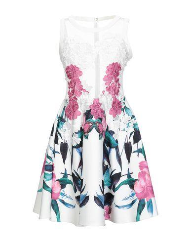 FOREVER UNIQUE Short Dress in White