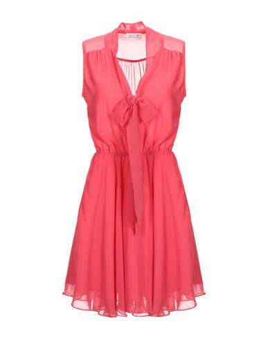 MOLLY BRACKEN Short Dress in Coral