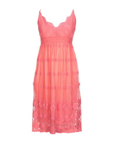 MOLLY BRACKEN Knee-Length Dress in Coral