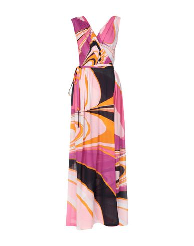 detailed look 3123d 27568 Emilio Pucci Long Dress - Women Emilio Pucci Long Dresses ...
