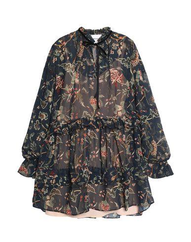 PERSEVERANCE Short Dress in Deep Jade