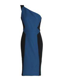 Purple Knee Length Roland Mouret Dress