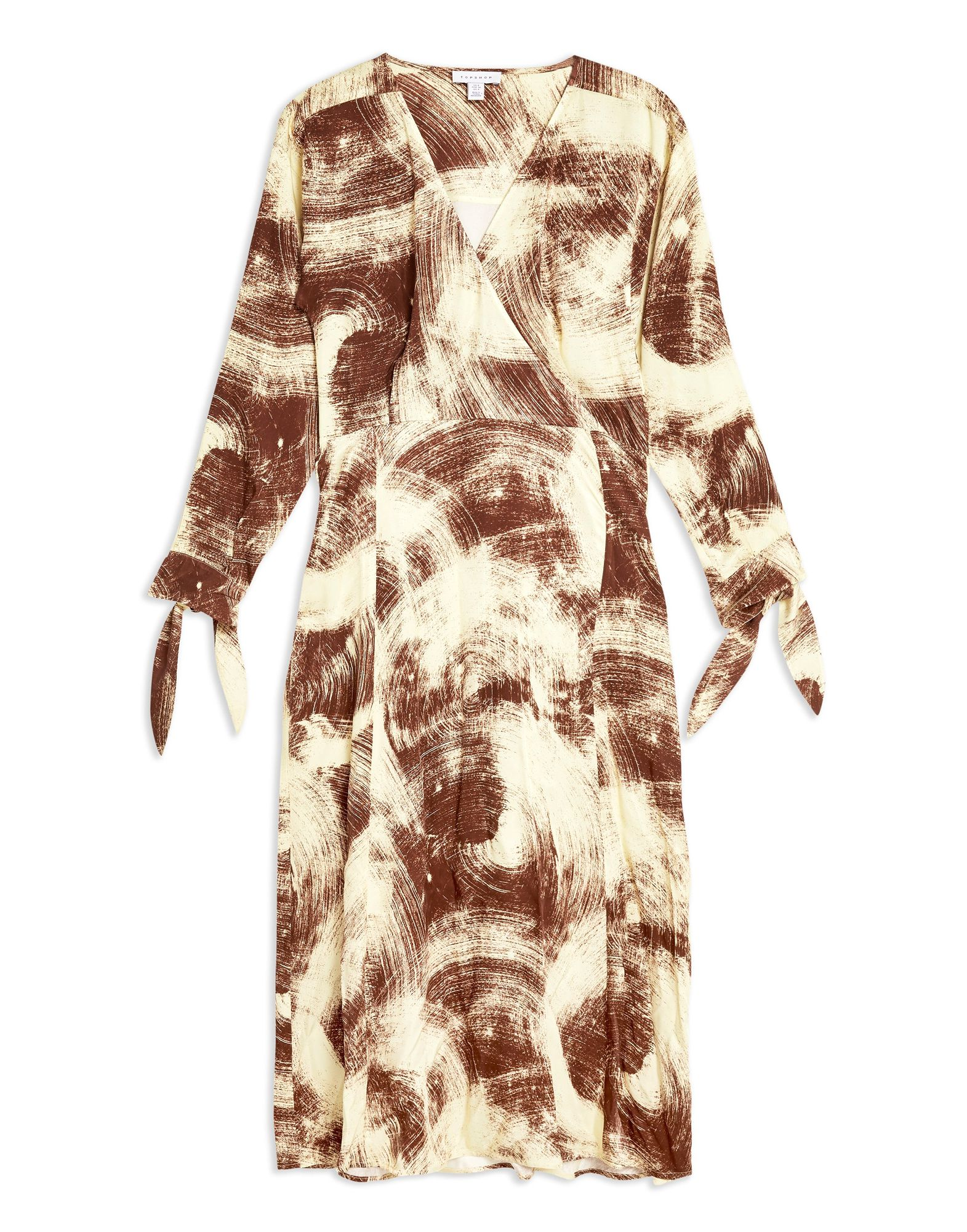 Vestito Longuette Topshop Swirl Wrap Dress Dress Dress By Boutique - donna - 34945224PB f03