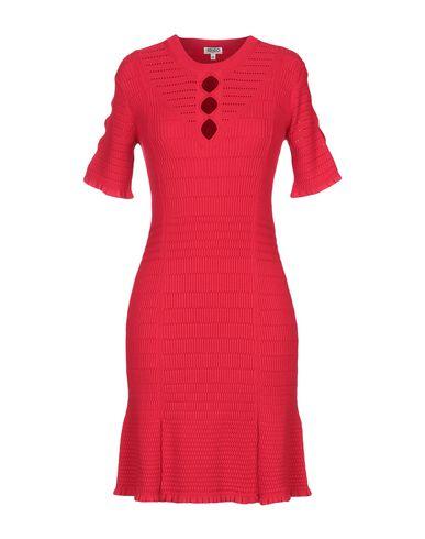 Kenzo Short Dress In Red