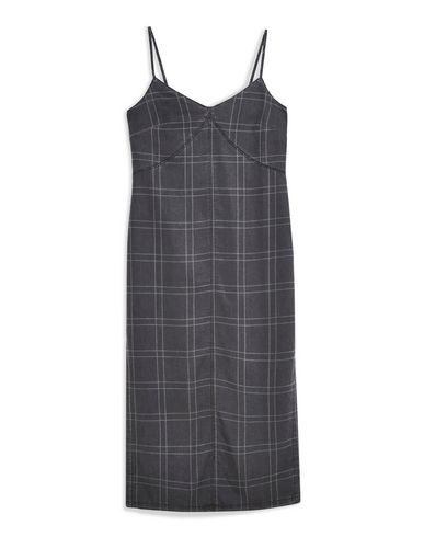 a92f57b12484 Topshop Check Denim Midi Dress - Midi Dress - Women Topshop Midi ...