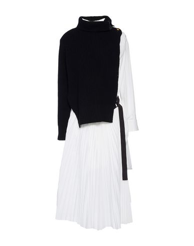 Sacai Dresses Midi Dress