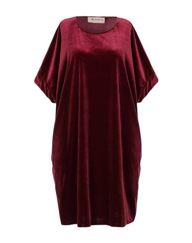 Blanca Short Dress In Maroon