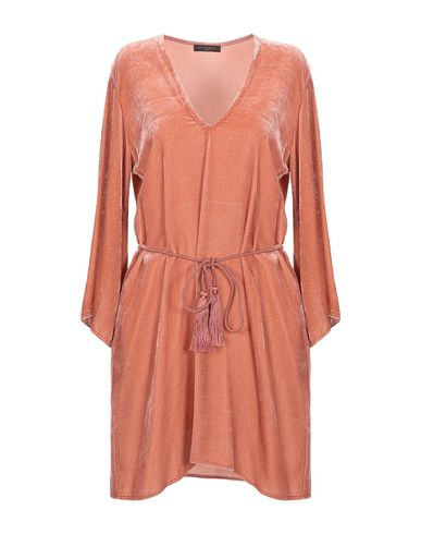 Antonelli Short Dress In Pastel Pink