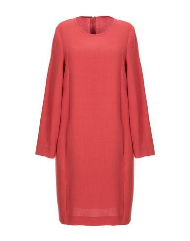 Antonelli Short Dress In Brick Red