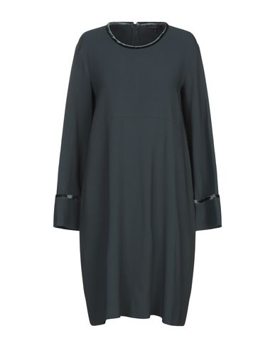 Antonelli Knee-length Dress In Dark Green