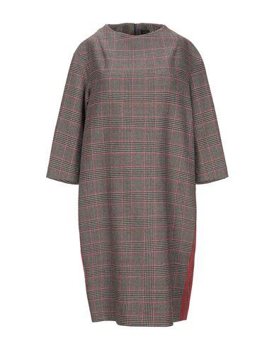 Antonelli Short Dress In Khaki
