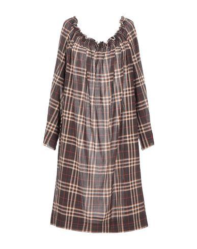 Antonelli Short Dress In Dark Brown