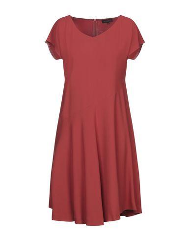 Antonelli Short Dress In Rust