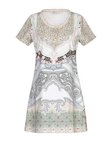 Etro Short Dress In Beige