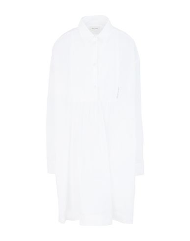 Wood Wood Greta Long Cotton-poplin Shirt In White
