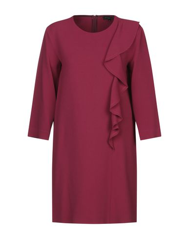 Antonelli Short Dress In Garnet