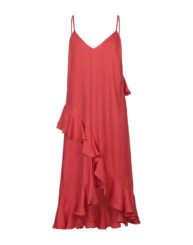 Kenzo Midi Dress In Red