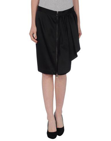 MOSCHINO CHEAP & CHIC Knee Length Skirt in Black